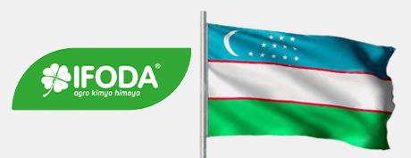 Cooperation with IFODA AGRO KIMYO HIMOYA Company is initiated in the Republic of Uzbekistan