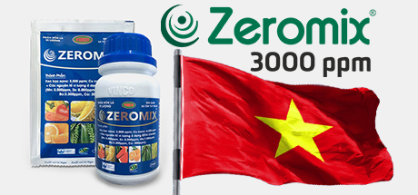 Preparation Zeromix 3,000 ppm enters the Vietnamese market